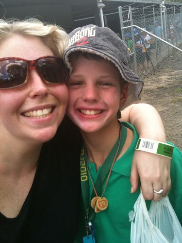9/365: me + Nephew Noah at Australian Jamboree Visitors' Day | by rahest