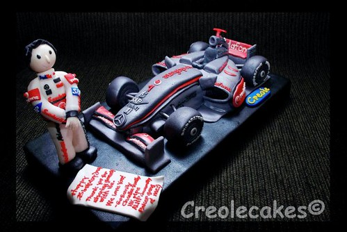 Mclaren Hamilton Formula 1 Cake Jade Saducas Flickr