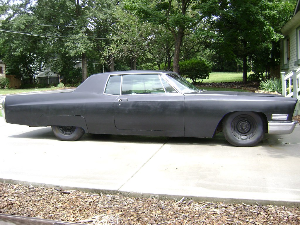 1967 Murdered out Cadillac Coupe DeVille | 1970 Lincoln ...