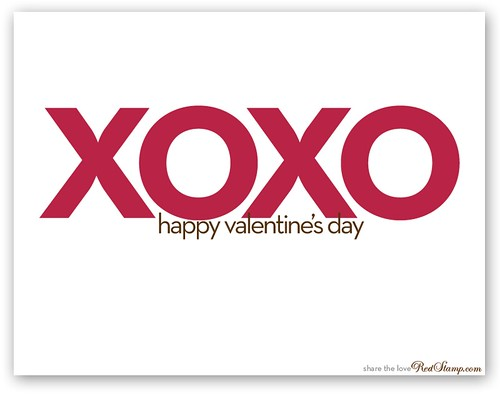 Xoxo Happy Valentine S Day Www Redstamp Com Virtual Val Flickr