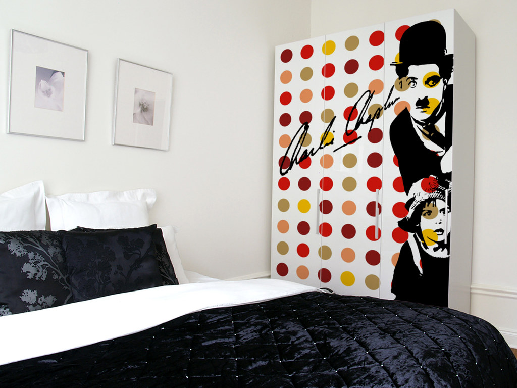 Bedroom Ι Chaplin Ι Pop Art | Furniture coating - partnershi… | Flickr