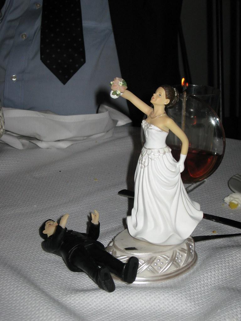 Unfortunate Wedding Cake Topper Pose IMG 0141