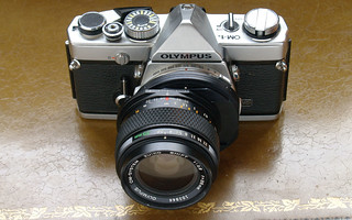 Olympus 35mm f/2.8 Zuiko Shift Lens | by Casual Camera Collector
