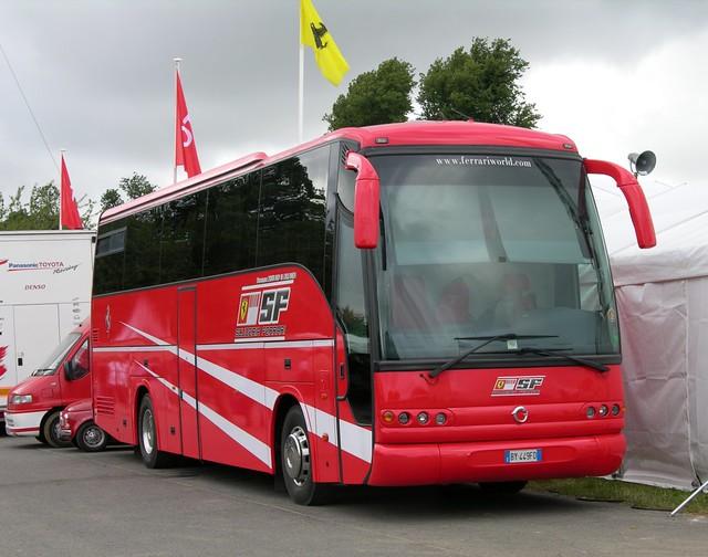 Ferrari Bus Andrew Wright Flickr