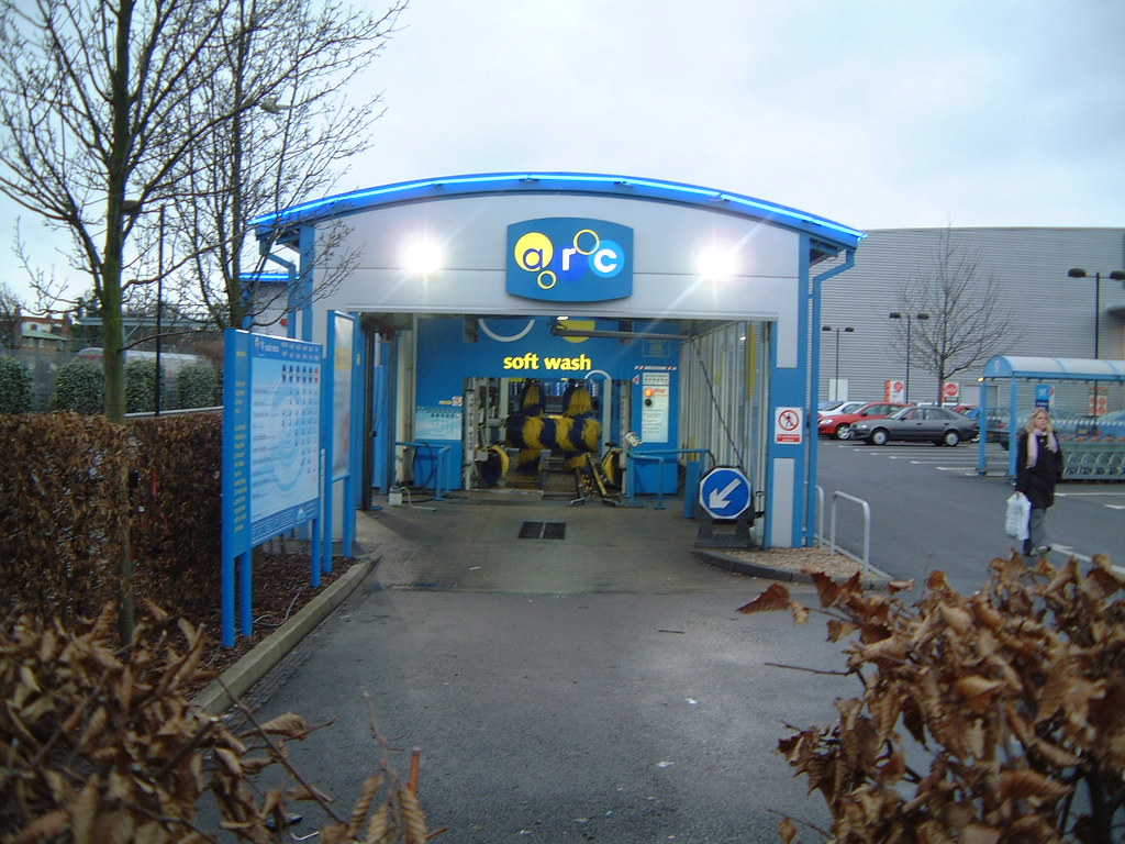 Arc Car Wash Entrance Minale Tattersfield Flickr