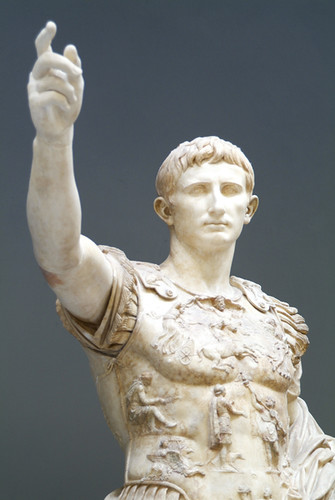 augustus of primaporta essays This essay will compare and contrast these two artworks to decipher ways in which they enable us to understand the religious and doryphoros and augustus prima porta.