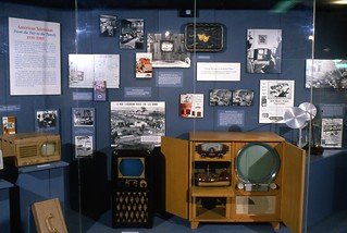 American Television exhibit installation 1989 | by national museum of american history