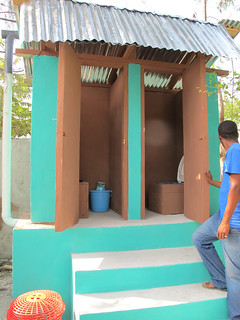 Urine diversion toilets in Haiti | by Oxfam International