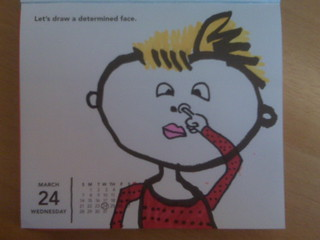 Daily Doodle Calendar - March 24 2010 | by livlab
