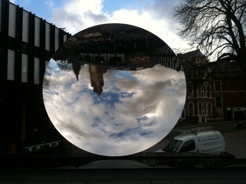 Anish Kapoor's Sky Mirror. Very cool. | by benjilanyado