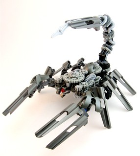 Scrapmetal-Bot Scorpion | by Aaron (-_-)