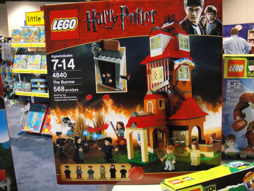 Lego Harry Potter   Ravenclaw Common White Arrow Room