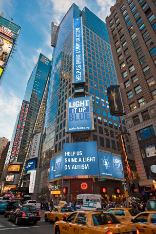 thomson reuters building times square nyc light it up b flickr. Black Bedroom Furniture Sets. Home Design Ideas