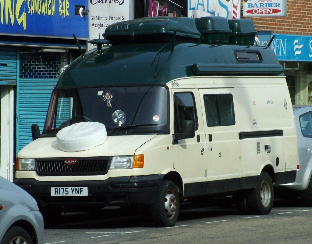 Convoy Campervan | 1997 LDV 400 Convoy Td Lwb Camper | kenjonbro ...