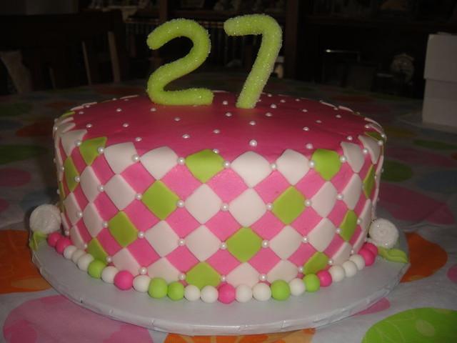 27th Birthday Cake Kali Flickr