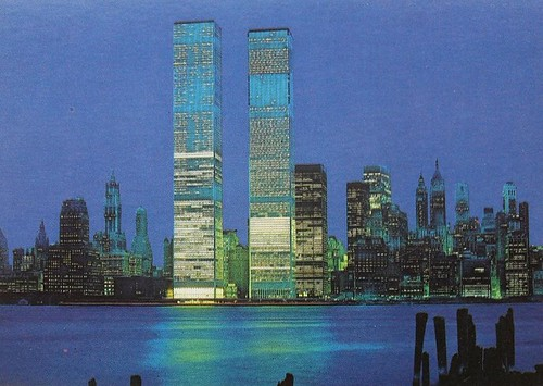 1973 World Trade Center Twin Towers New York City Vintage