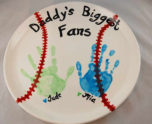 Baseball handprint platter | by PicassoZ