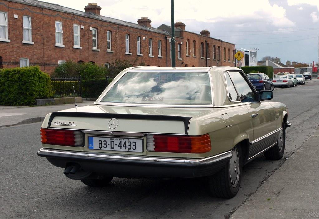 Ballsbridge Co Dublin Ireland 1983 Mercedes Benz 500