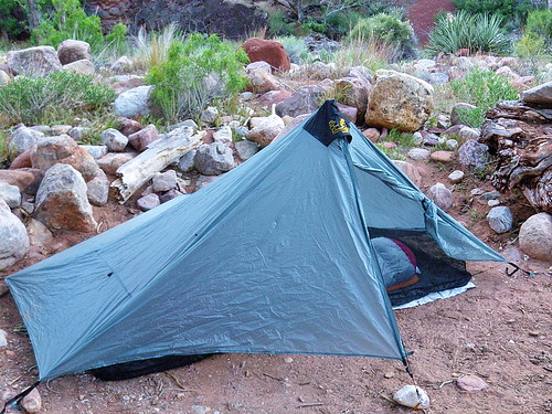 Six Moon Designs Lunar Solo Tent - Clear Creek Campground - Grand Canyon | by Al_HikesAZ