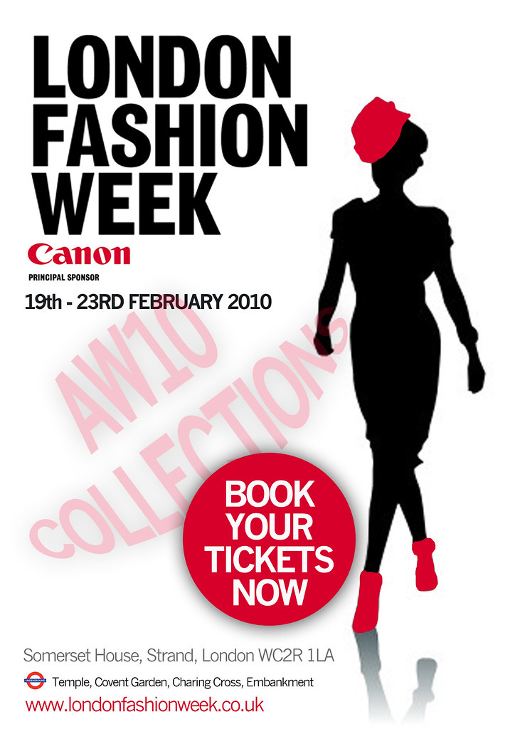 London Fashion Week Poster Flickr