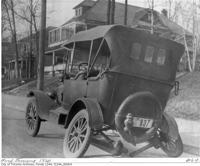 Free Car History Report >> Ford touring car with broken axle | Photographer: William ...