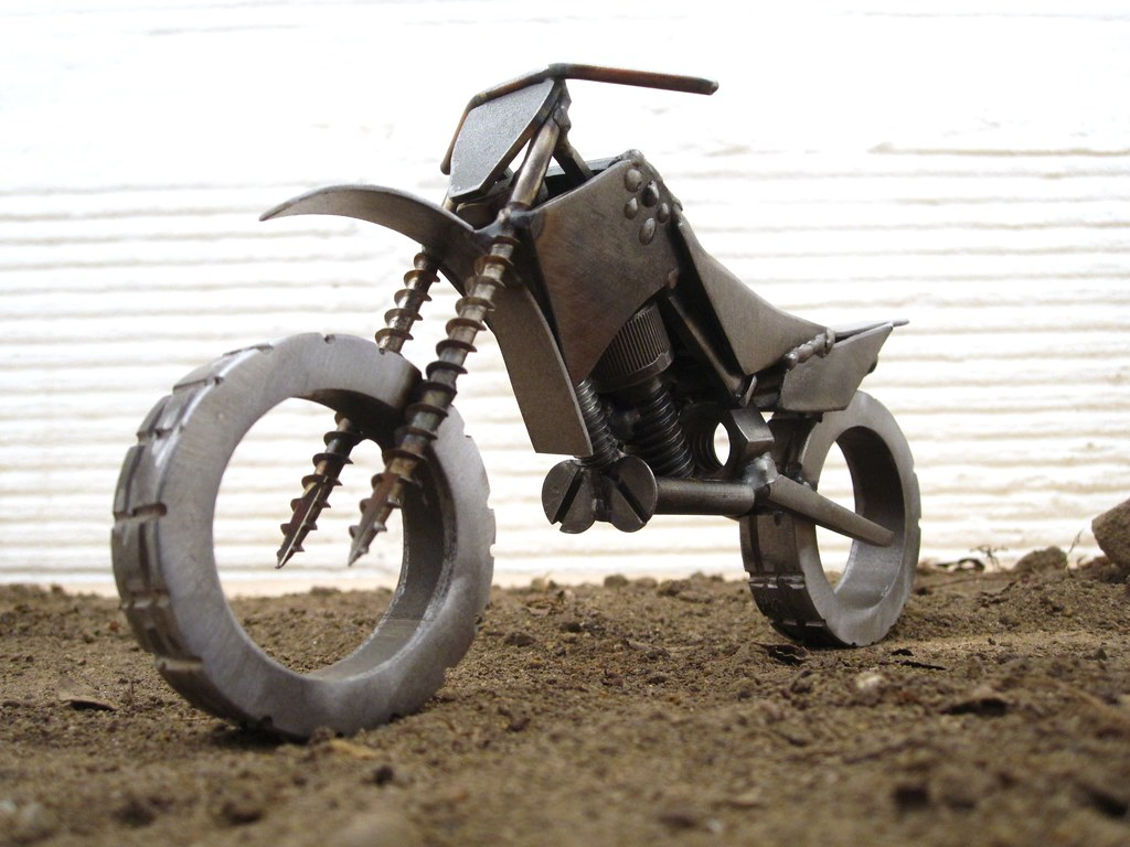 Welding Art Dirt Bike Year Of The Chopper 40 Www