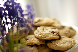 G-Free Chocolate Chip Cookies {& hyacinths} | by Simply Vintagegirl