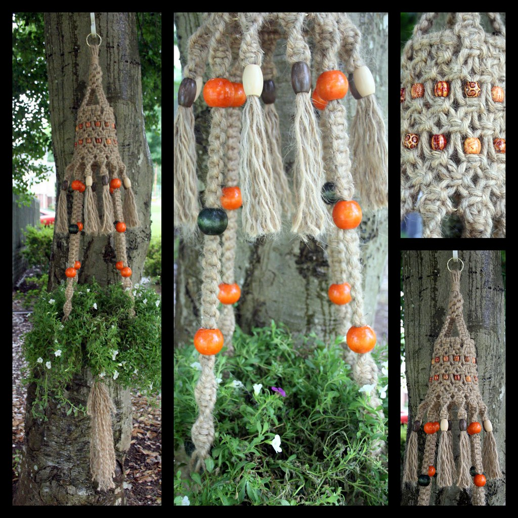new world macrame macrame plant hanger 65 inches 5979
