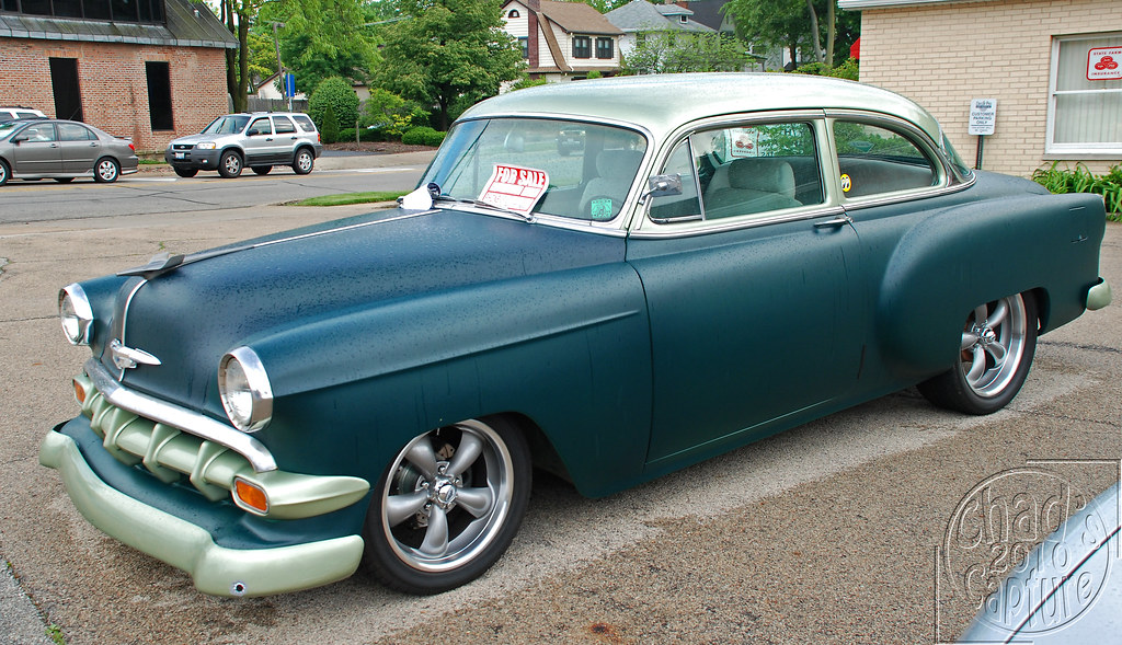 1954 chevy 210 del ray love the stance of this car flickr