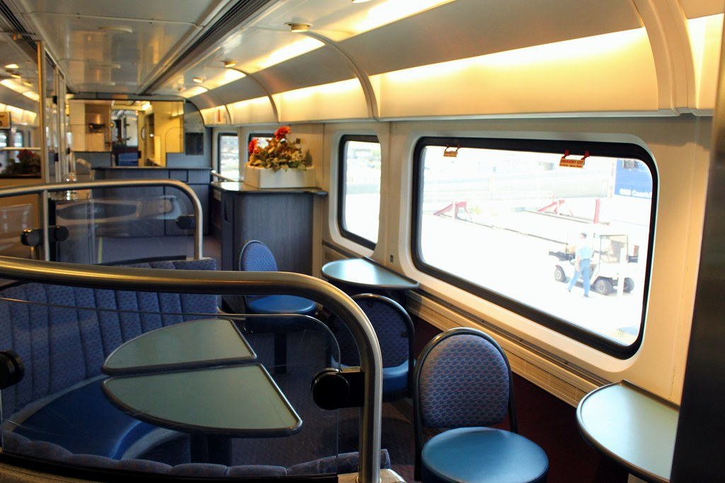 Amtrak Family Corner | Inside Amtrak Train | Prayitno