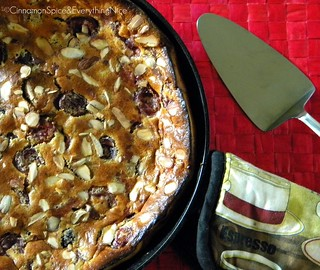 Cherry Almond Clafoutis | by CinnamonKitchn