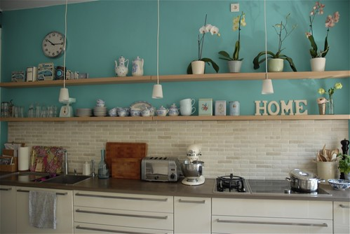 New kitchen wall | by moline