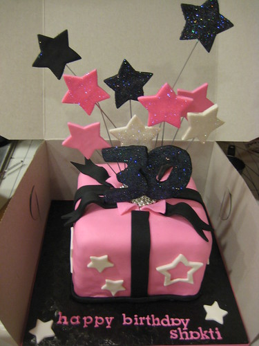 30th Birthday Cake Shooting Stars 6 Quot Red Velvet Cake