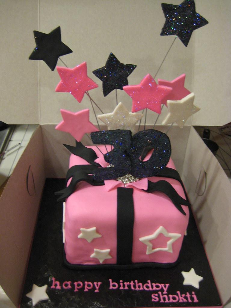 30th Birthday Cake Shooting Stars 6 Red Velvet Cake Dec Flickr