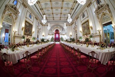 The Ballroom At Buckingham Palace The Ballroom At