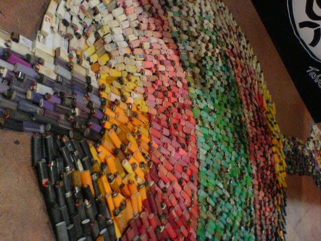Lighter Art Lighter Art Installation
