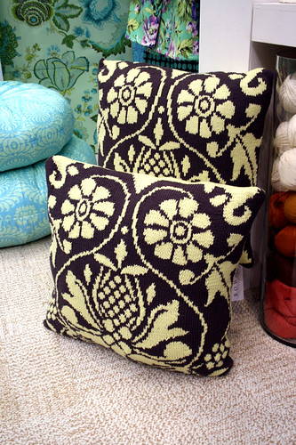 Amy Butler Knit Pillows | by trueup