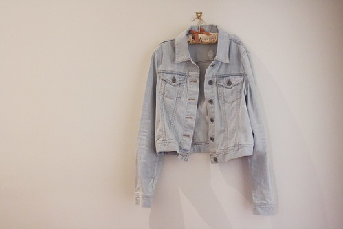 denim jacket | by pearled