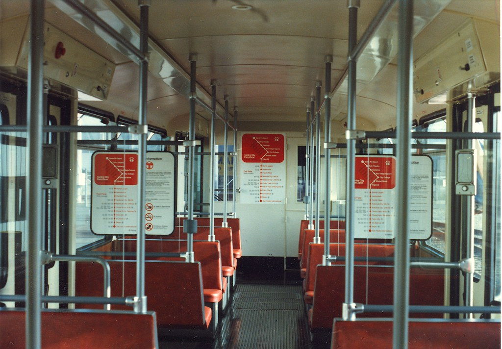san diego trolley the interior of the siemens u2 cars look flickr. Black Bedroom Furniture Sets. Home Design Ideas