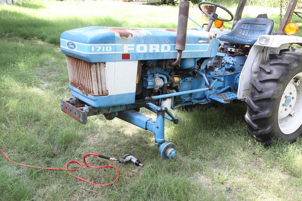 Ford 1710 Tractor Ballast : Ford tractor rain creek farm fayetteville tx flickr