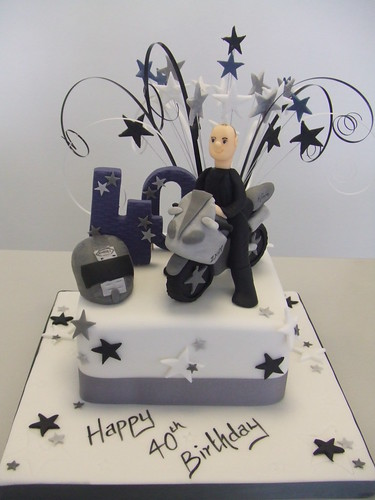 Cake Mens 40th By Jules Jules Enquiries Cakechester