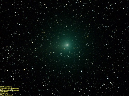 Comet 103P Hartley 2 | by msdeprest