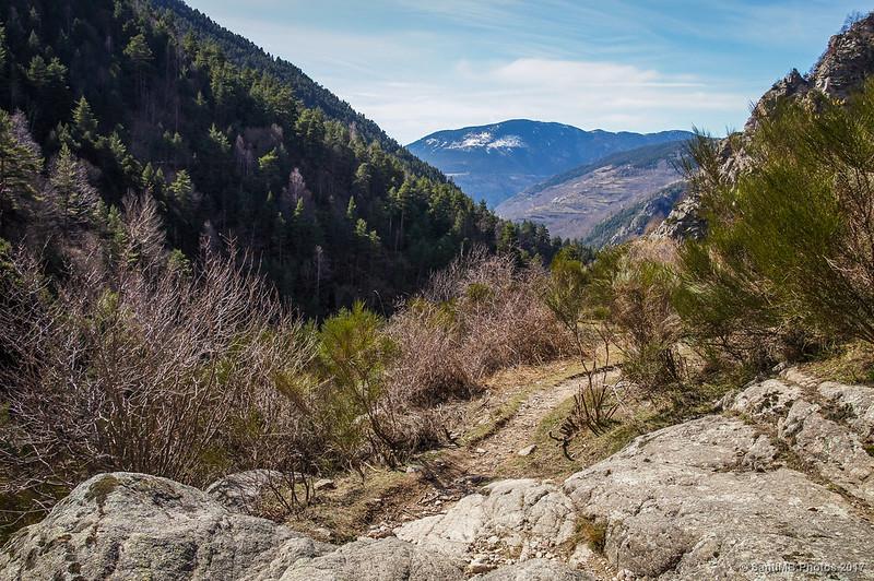 Vall de Ribes desde el camino a Coma de Vaca