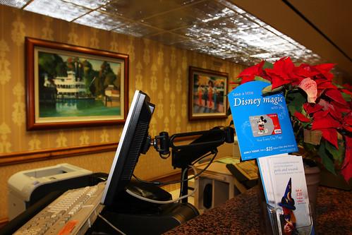 Disneyland Hotel Room Layout