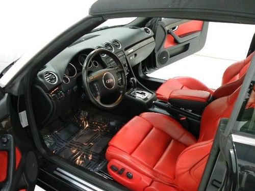 2005 Audi S4 Interior Photo Red Seats Detailed By Crysta