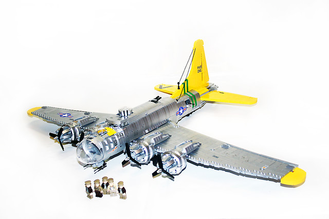 B-17 Flying Fortress 1 | Always wanted to build that baby
