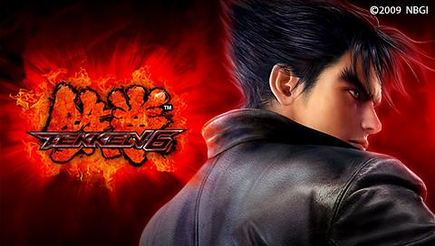 Jin Kazama PSP Wallpaper