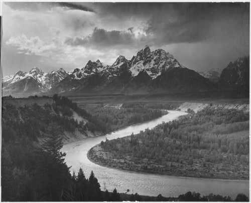 """The Tetons - Snake River,"" Grand Teton National Park, Wyoming. 
