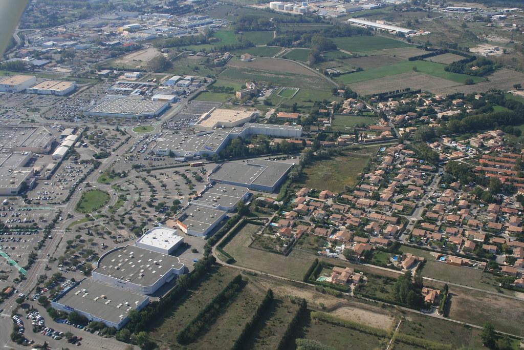 Photo Aerienne Centre Ville Troyes