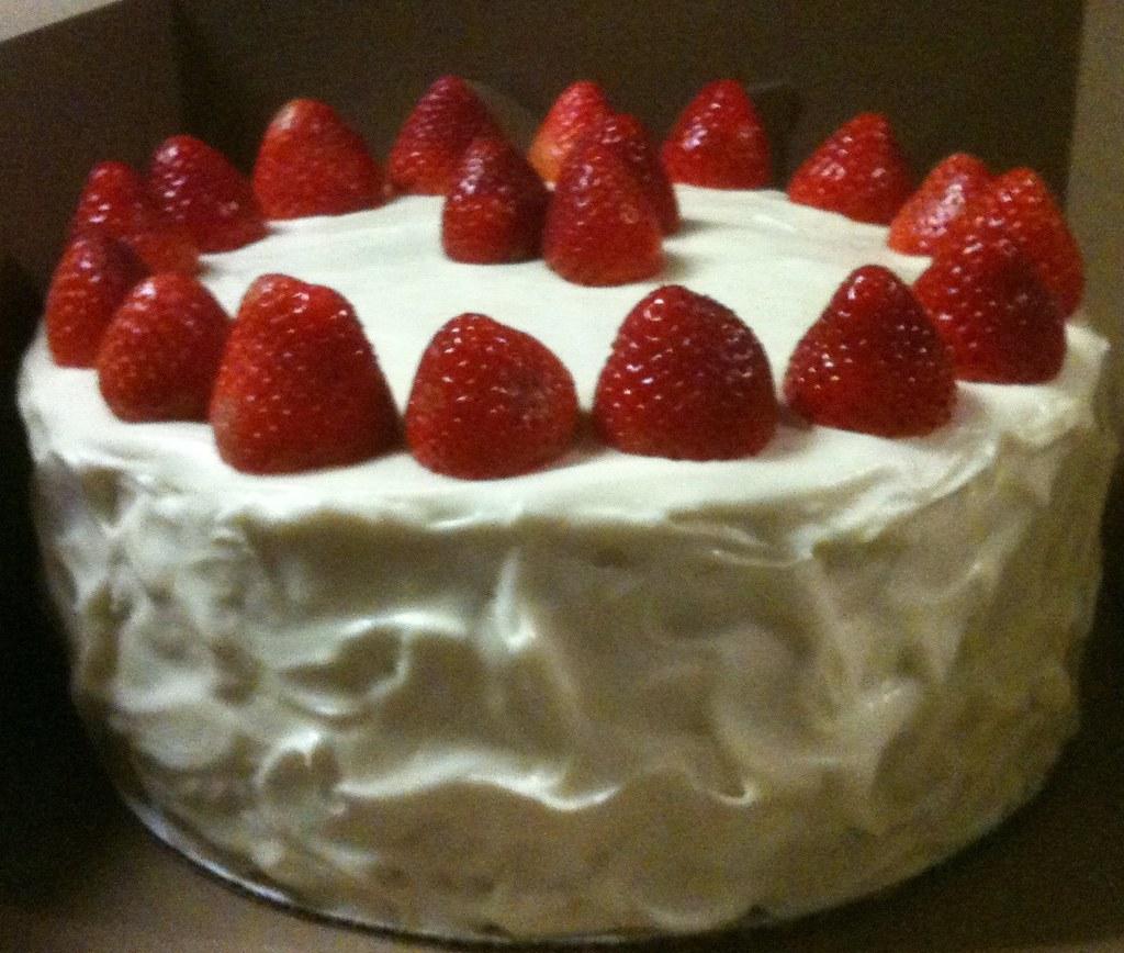 Strawberry Cream Cheese Cake Filling